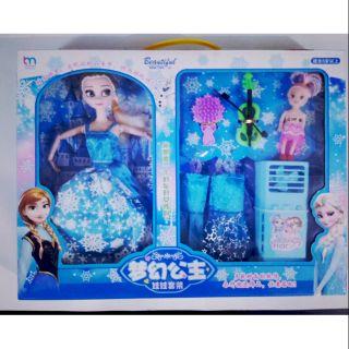 Búp bê Elsa có khớp ❄️