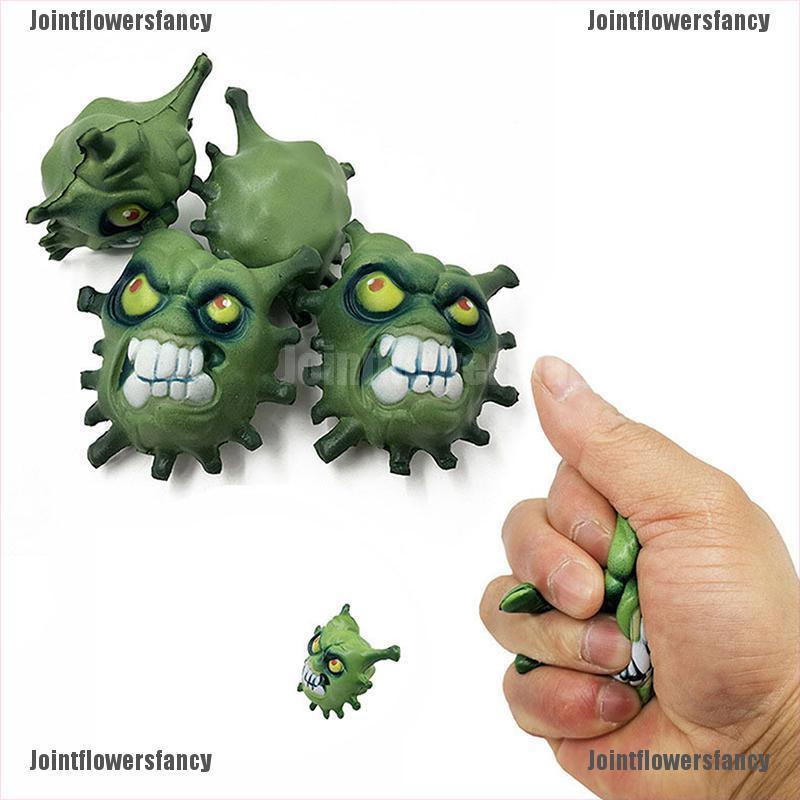 Jointflowersfancy Simulation Virus Slow Rebound Decompression Venting PU Toy Interesting Gifts CBG