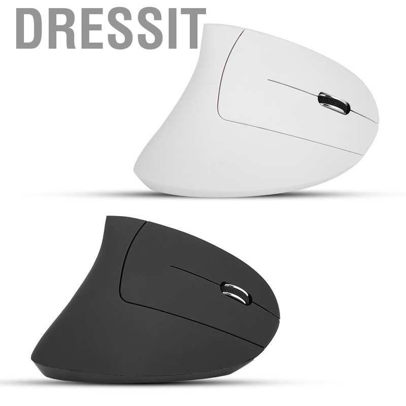 Dressit 2.4G Wireless 1600DPI Ergonomic Vertical Gaming Mouse Optical Mice for PC Laptop