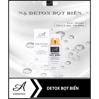 Detox Bọt Biển A Cosmetics FREE SHIP Mặt Nạ Thải Độc Da Detox Mỹ Phẩm Phương Anh Acosmetics