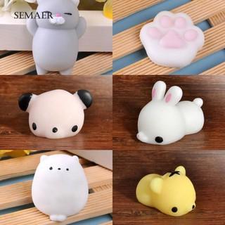 Đồ chơi mềm dẻo giảm stress hình thỏ / heo dễ thương