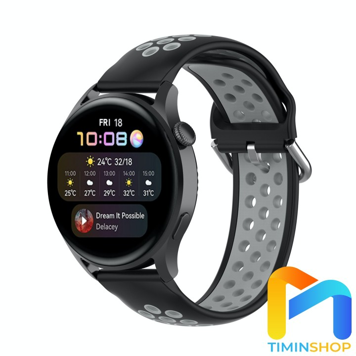 Dây Huawei Watch 3/ 3 Pro - Dây thể thao 2 màu