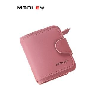 Ví nữ ngắn đẹp cầm tay mini MADLEY nhỏ gọn bỏ túi nhiều ngăn dễ thương VD396 thumbnail