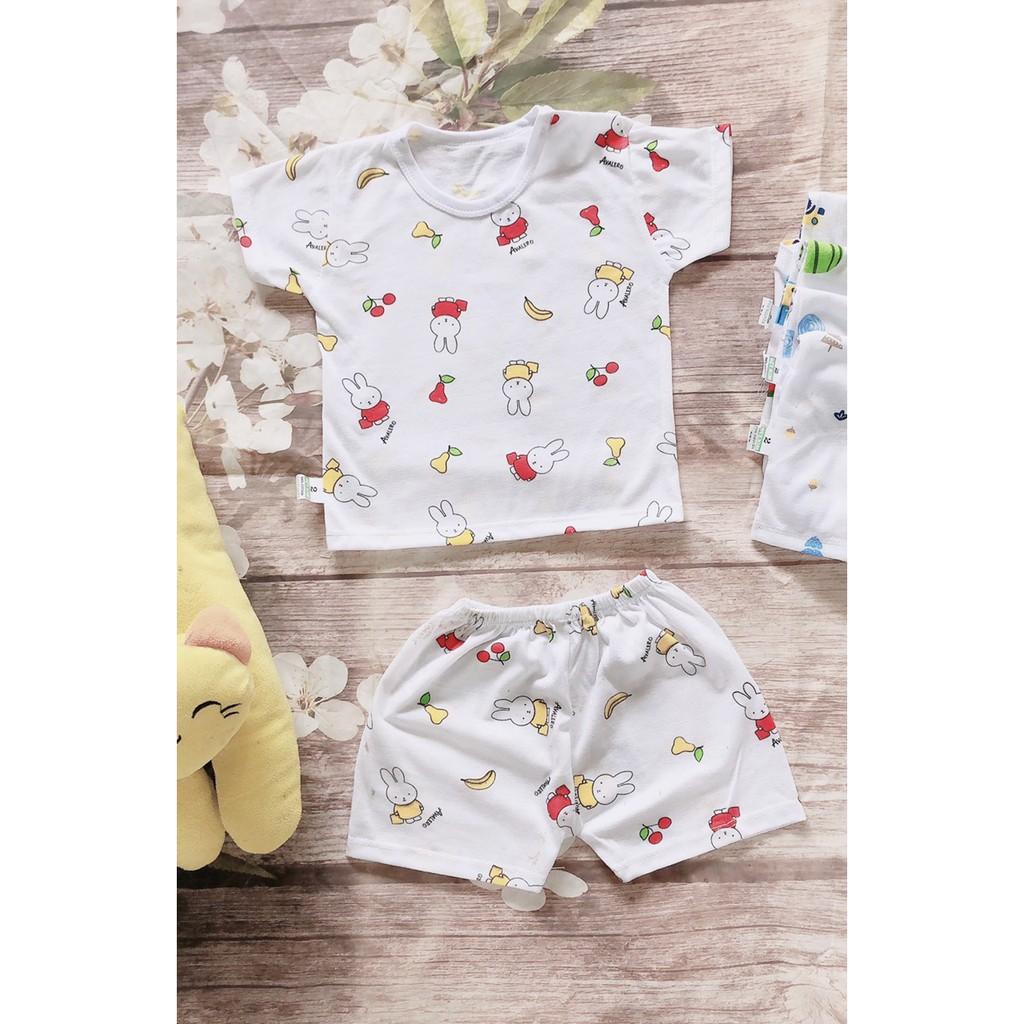 Hàng đẹp - 10 bộ quần áo giành cho trẻ sơ sinh/quần áo cọc tay cho bé trai/bé  gái chính hãng 156,000đ