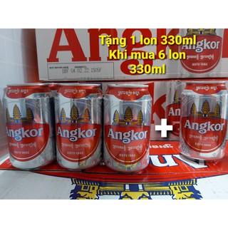 Bia Angkor [Tặng 1 lon 330ml khi mua 6 lon 330ml]