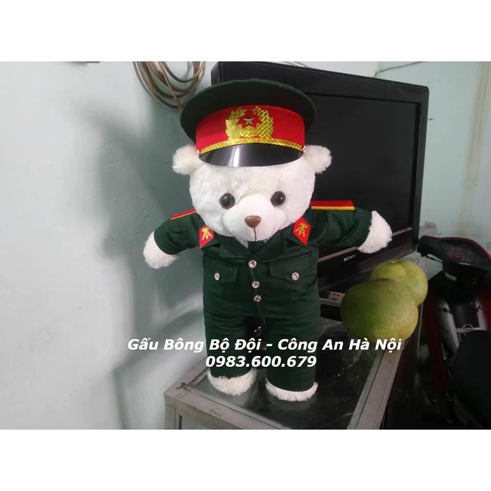 Gấu Bông Bộ Đội Lục Quân 55 cm