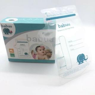 30 túi trữ sữa babuu Nhật bản 100ml