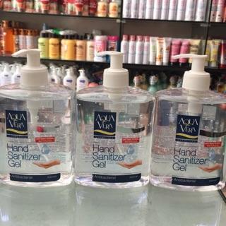 Gel rửa tay khô diệt khuẩn AQUAVERRY 500ml thumbnail