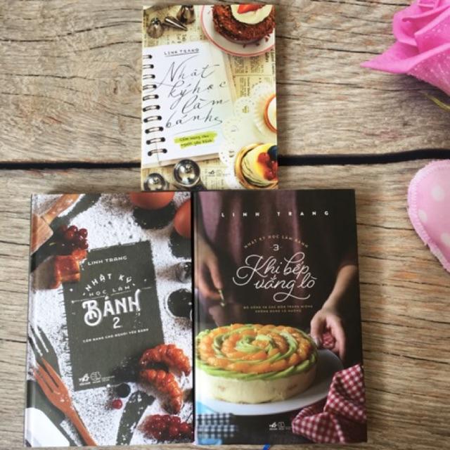 Sách Trọn Bộ 3 Cuốn Nhật Ký Học Làm Bánh - Linh Trang