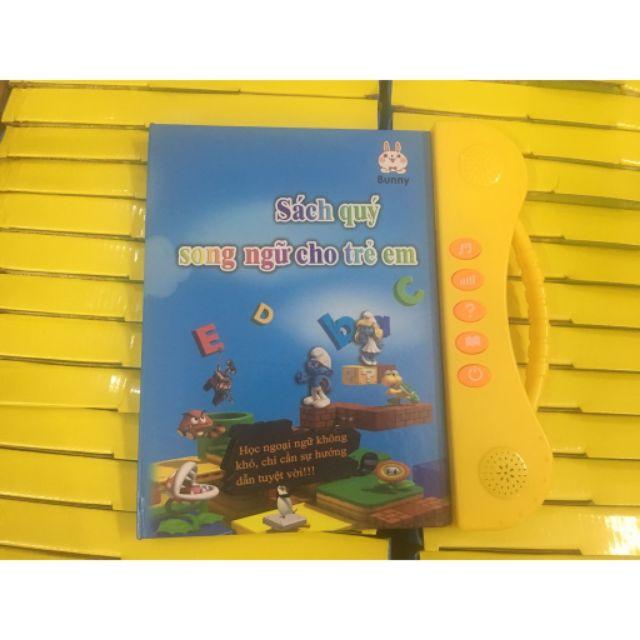 Sách quý song ngữ cho trẻ em kèm sét 3 quyển tập tô tự bay màu