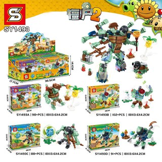 Đồ Chơi Lego Minecraft 4 In 1 - Minecraft Plant & Zombie - 400 Mảnh
