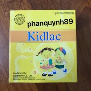 Kidlac nâng cao sức khỏe đường ruột, chống rối loạn tiêu hóa hiệu quả