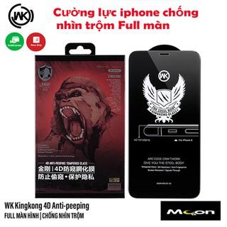Kính Cường Lực KINGKONG Full Màn Chống Nhìn Trộm Cho iphone - Chính Hãng thumbnail