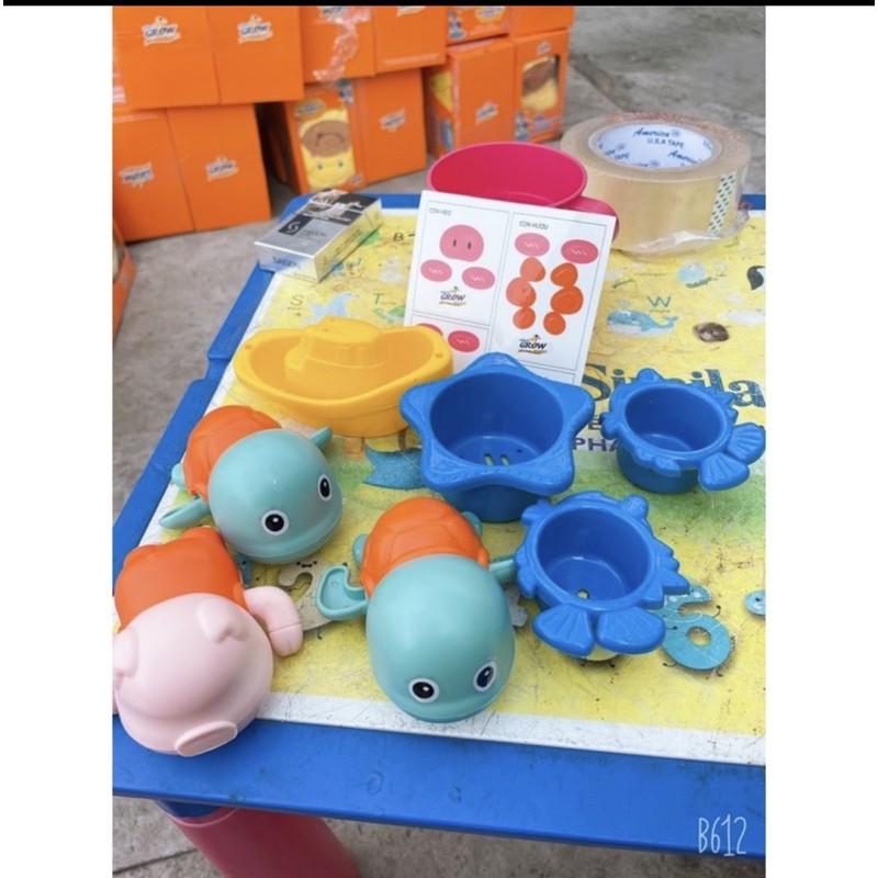 Set 7 chi tiết đồ chơi dưới nước