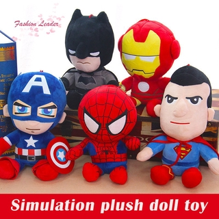 🍀New!🍀 Simulation The Avengers Stuffed Doll Plush Toy Comic Movie Character Toy