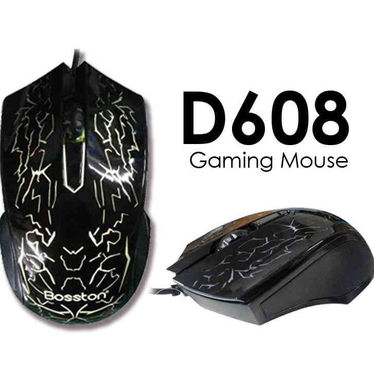 Deal Hot Chuột chơi game Bosston D608 có dây Chính hãng