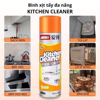 Bình xịt vệ sinh bếp bọt tuyết đa năng Kitchen Clear 500ml - Chai Vàng Cực Mạnh thumbnail