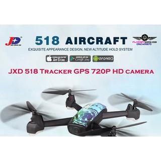 Flycam JXD 518 Tracker GPS 720P HD camera