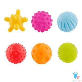 Baby Toy Hand Catch Ball Baby Puzzle Toy Ball Soft Rubber Massage Ball