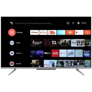 Tivi TCL AndroidTV 9.0 4K UHD 43 inch 43P715