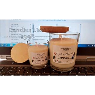 Nến thơm handmade hương cafe và bạc hà