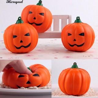 Đô ̀ chơi bo ́ p Squishy hi ̀ nh bi ́ ngô Halloween