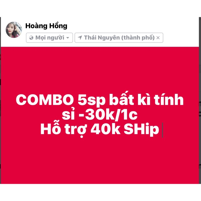 COMBO 5sp tính sỉ
