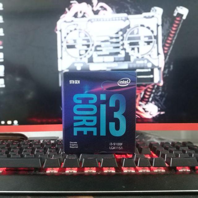 Bộ vi xử lý CPU intel Core i3 9100F New Box Chính Hãng