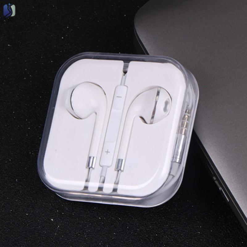 Yy In-Ear Earphones Bass Earbuds Stereo Headphone for Apple iPhone 6s 7/8 Xiaomi Samsung Sony @VN