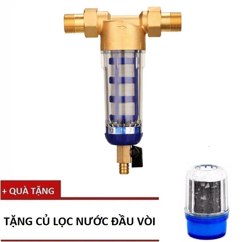 Thiết bị lọc nước thô đầu nguồn cho hộ gia đình LN02-17 + Tặng 1 củ lọc đầu vòi - 9939891 , 720623696 , 322_720623696 , 799000 , Thiet-bi-loc-nuoc-tho-dau-nguon-cho-ho-gia-dinh-LN02-17-Tang-1-cu-loc-dau-voi-322_720623696 , shopee.vn , Thiết bị lọc nước thô đầu nguồn cho hộ gia đình LN02-17 + Tặng 1 củ lọc đầu vòi