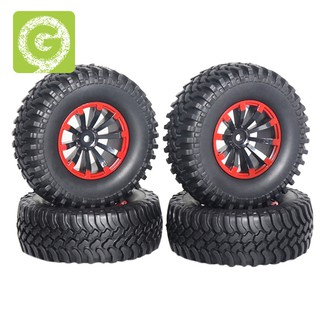 4Pcs 120Mm 1.9 Inch Rubber Rocks Tyres / Wheel Tires