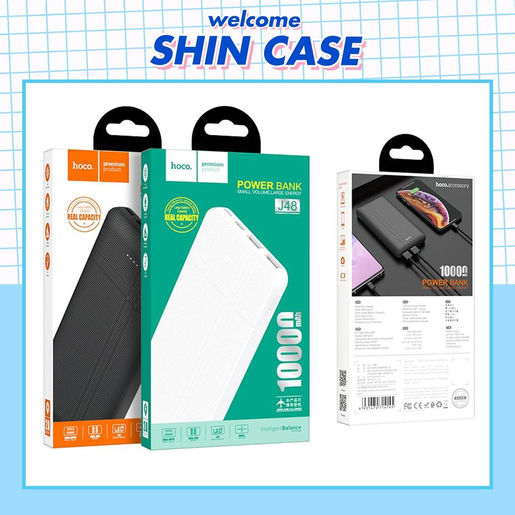 Sạc Pin Dự Phòng J48 10000 mAh Hoco Chính Hãng - Bảo Hành 6 Tháng - Ốp lưng iphone - Shin Case