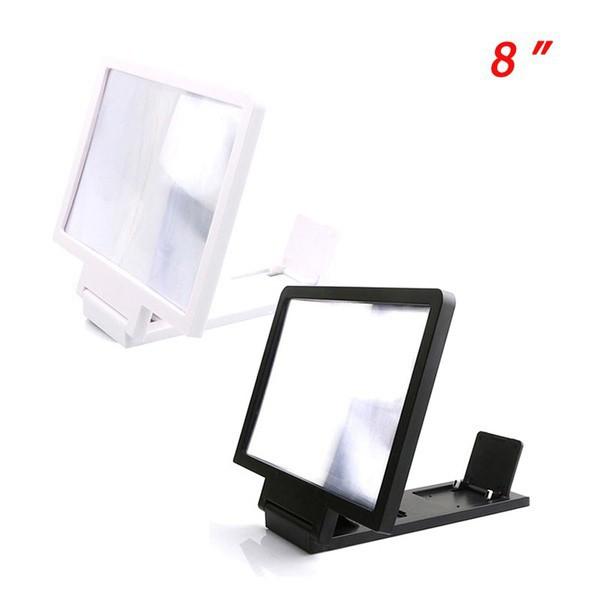 3D HD Mobile Phone Screen Amplifier 8' Video High Definition Magnifier Frame