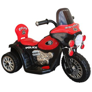 [ Nhập XELUPRO giảm thêm 50K nhé ] Xe đạp 3 bánh Nhựa Chợ Lớn Electric Motor Police One – M1732-X3B