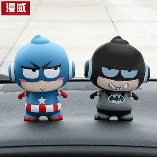 phụ kiện trang trí xe ô tô hình nhân vật hoạt hình dễ thương