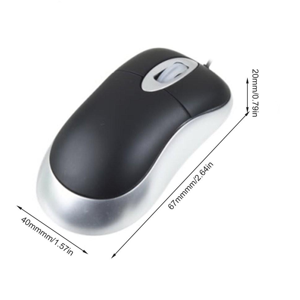 Chuột quang cuộn usb chất lượng cao cho laptop / máy tính