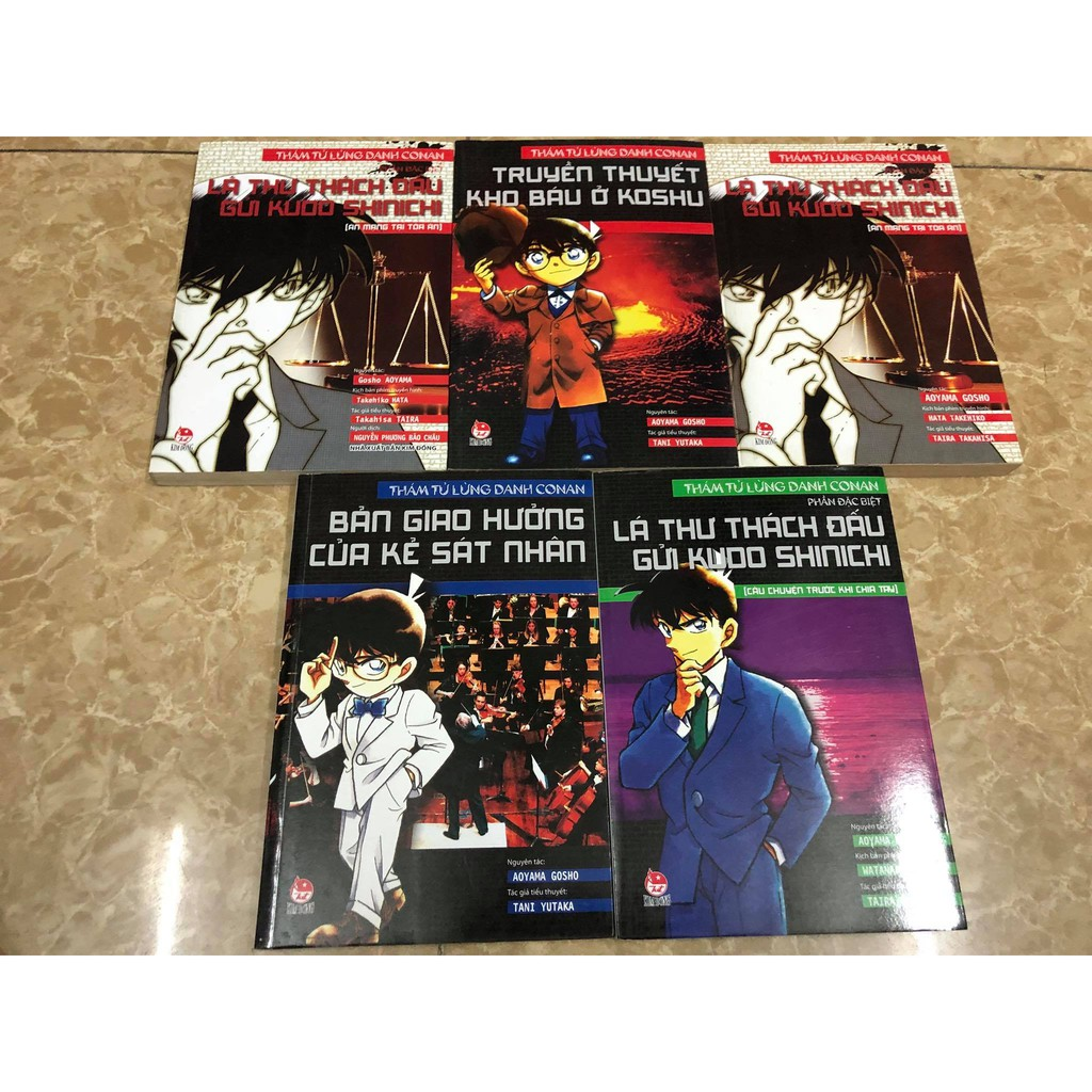 Sách - Tiểu thuyết Conan - 2612599 , 1337151948 , 322_1337151948 , 20000 , Sach-Tieu-thuyet-Conan-322_1337151948 , shopee.vn , Sách - Tiểu thuyết Conan