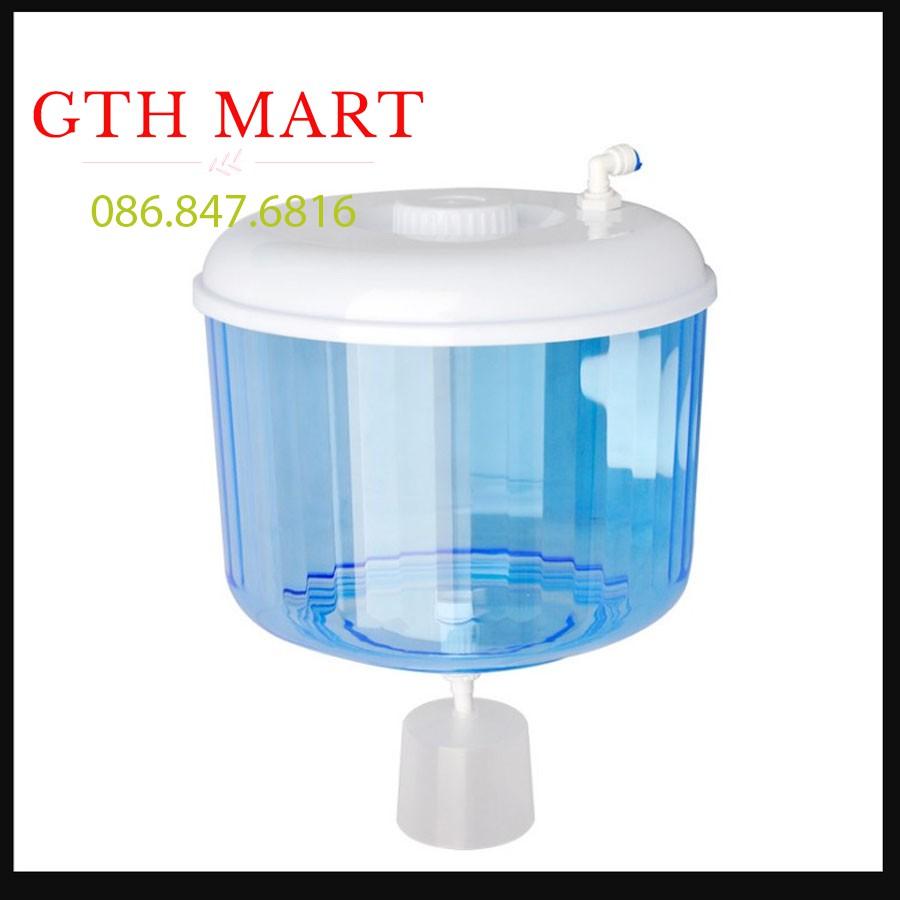 Bình nước Úp Cây Nước Nóng Lạnh - Phao Chống Tràn, Có đầu lấy nước trực tiếp từ máy lọc nước Thế hệ mới GTH SHOPSHOP A1