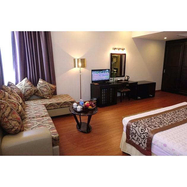 Hồ Chí Minh [Voucher] - Golden Hạ Long Hotel 4 sao Hạng phòng Superior tặng kèm ăn sáng cho 02 người