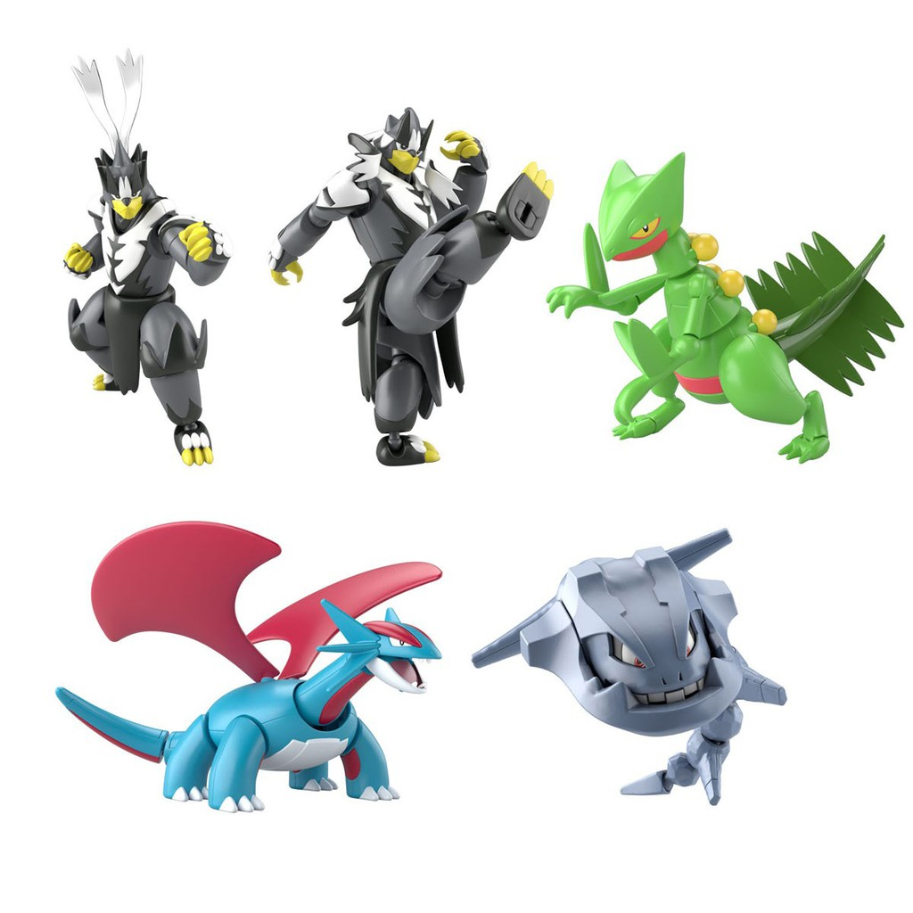 Đồ chơi mô hình lắp ráp – SHODO Pokemon 5