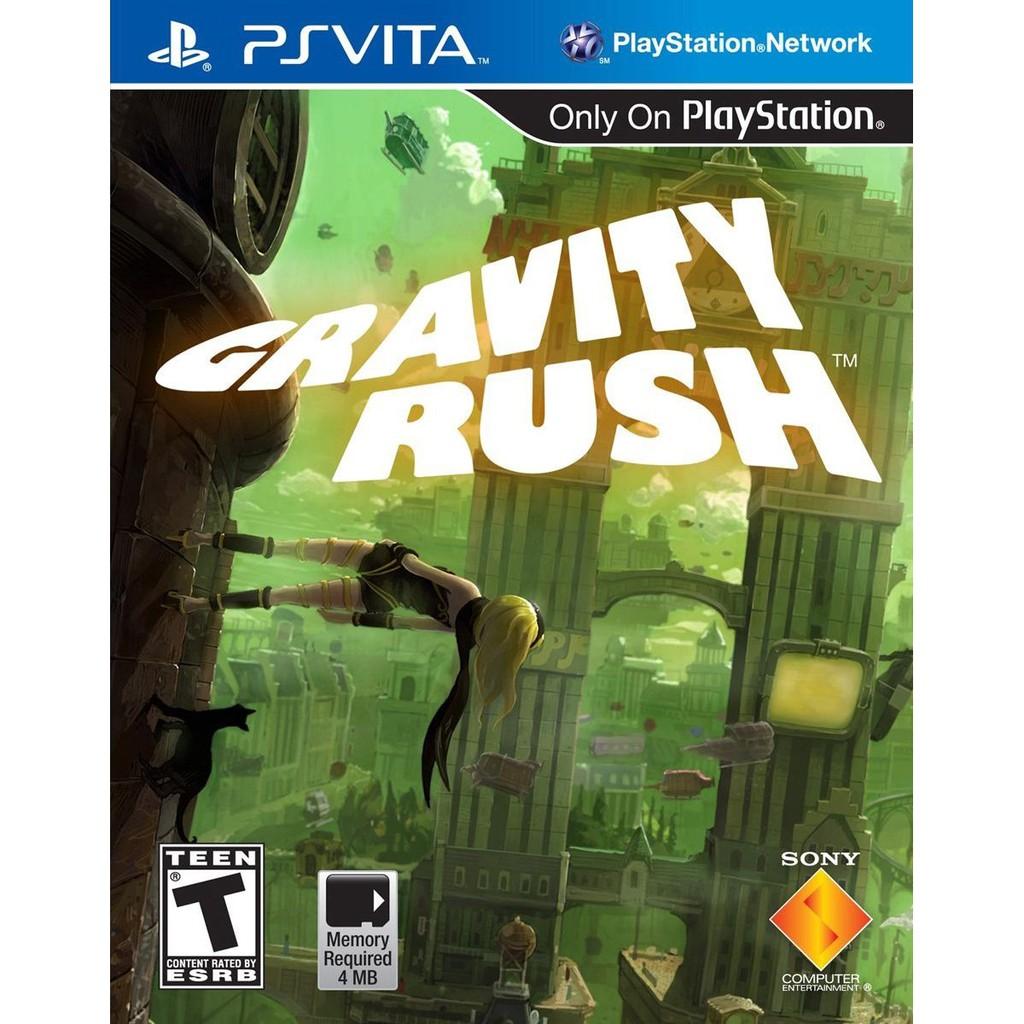 Thẻ game Gravity Rush cho PS vita