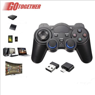 Tay game không dây Smart Gamepad Type C, USB 850M 2.4Ghz PC PS3 Xbox360 Android TV smartphone - Home and Garden