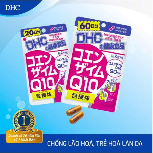 [180 Viên/90 Ngày] Viên Uống Chống Lão Hóa, Ngăn Ngừa Nếp Nhăn DHC Coenzyme Q10