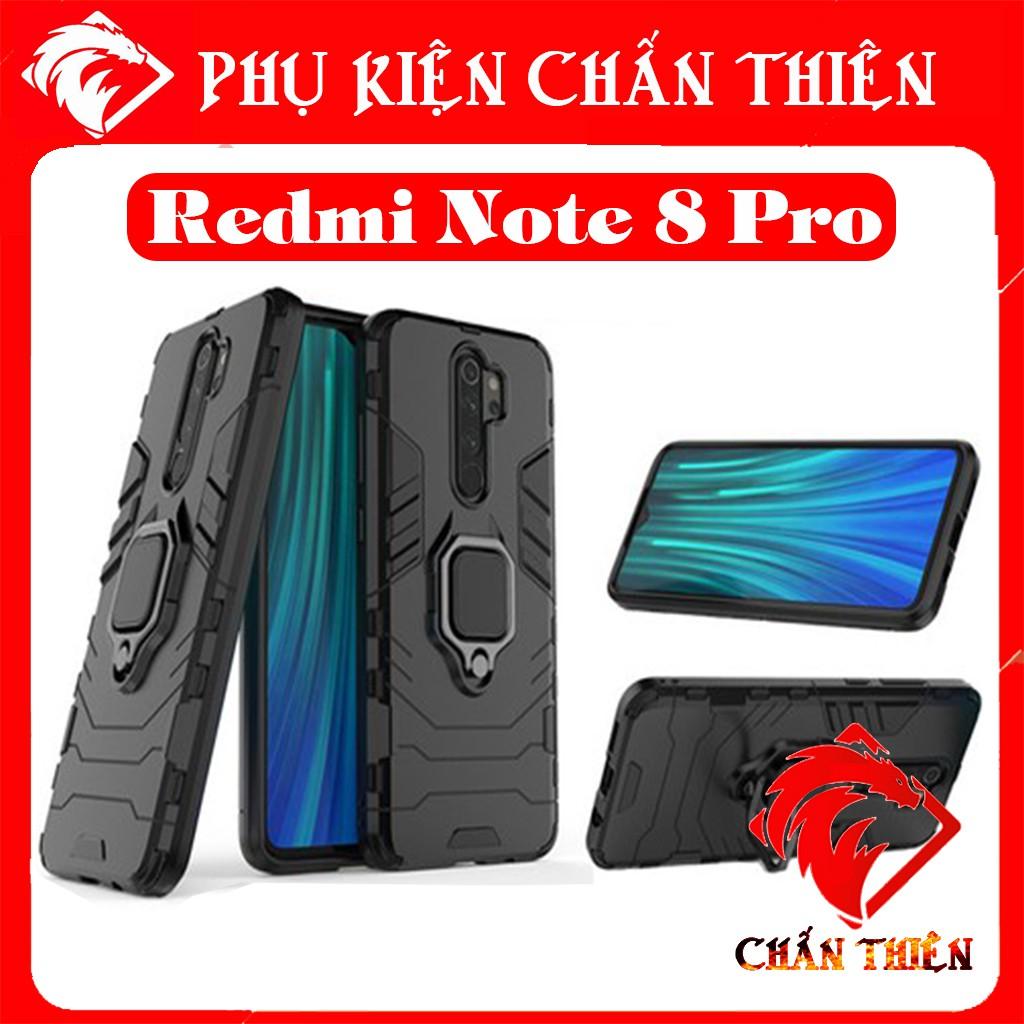 ✔️Ốp Lưng Redmi Note 8 Pro Chống Sốc Iron-man Siêu Hầm Hố - Độ Bền Vĩnh Cửu