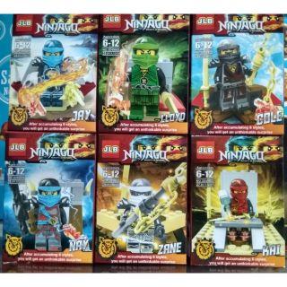 LEGO Ninjago:trọn bộ 6 hộp hiệu JLB