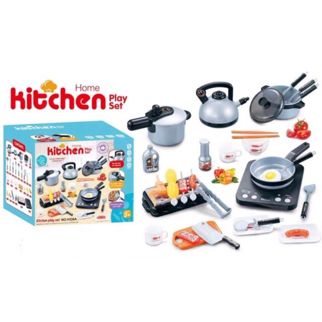 Bộ đồ chơi nấu ăn 36 chi tiết dành cho bé GIÁ