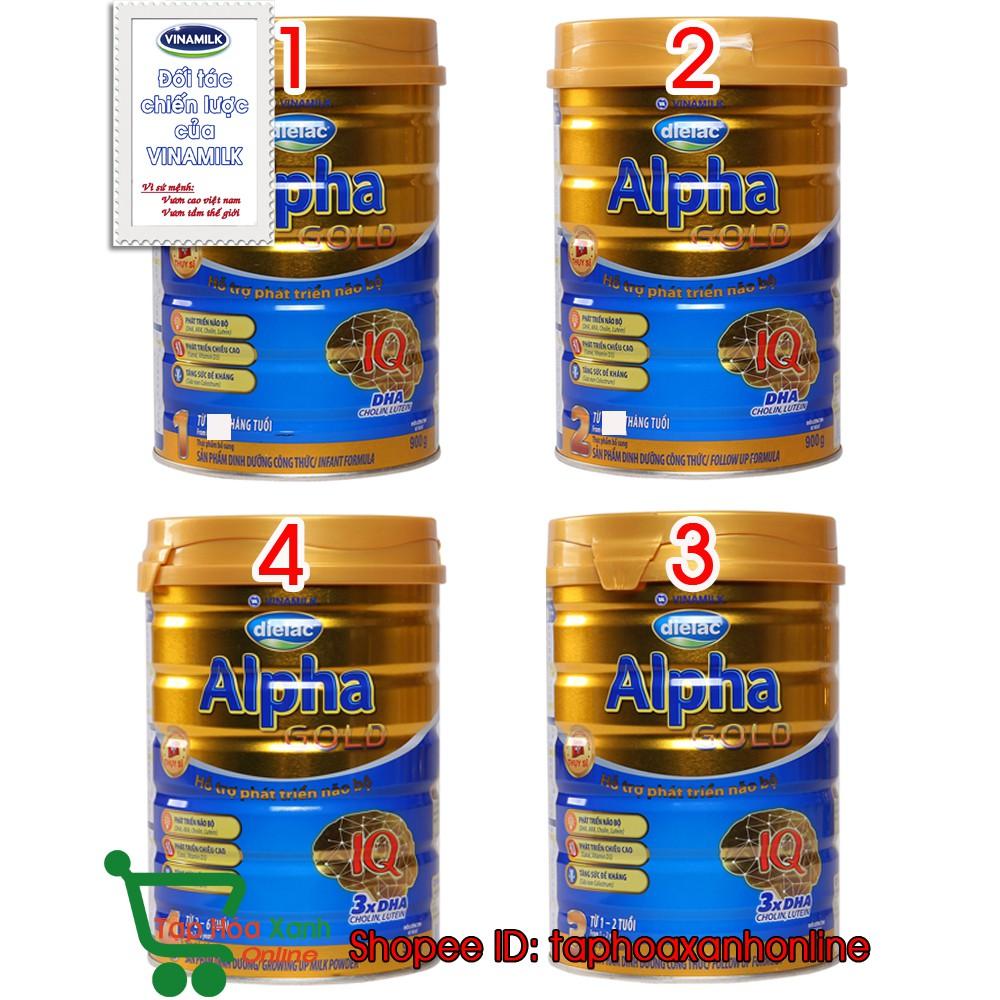 Sữa bột Dielac Alpha Gold số 1-2-3-4 900G - Phát triển não bộ cực tốt - 3510780 , 860189470 , 322_860189470 , 182000 , Sua-bot-Dielac-Alpha-Gold-so-1-2-3-4-900G-Phat-trien-nao-bo-cuc-tot-322_860189470 , shopee.vn , Sữa bột Dielac Alpha Gold số 1-2-3-4 900G - Phát triển não bộ cực tốt