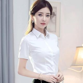 Áo Sơ Mi Ngắn Tay Phong Cách Hàn Quốc Dành Cho Nữ