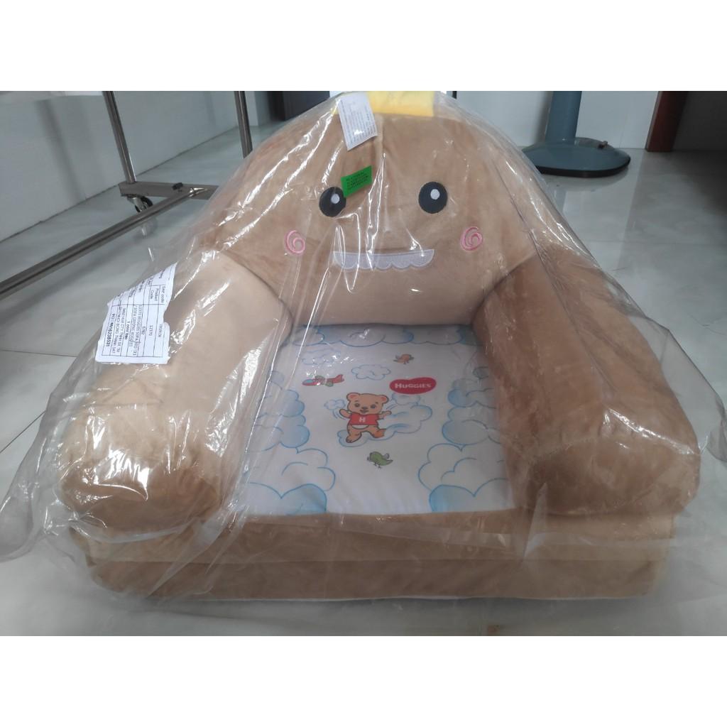 Ghế Sofa giường cao cấp Huggies hình thú dễ thương cho bé