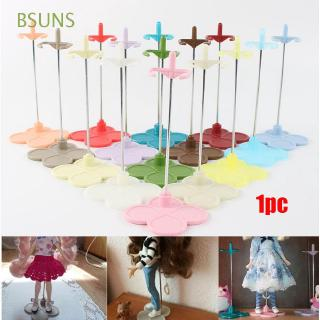 BSUNS Miniature Delicate Various Colours Girl Toys Plastic Doll Bracket